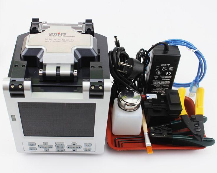 Mobile Remote Control Fiber Optic Fusion Machine AI-6 Intelligent Optical Fiber Fusion Splicer