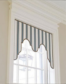 REpin from #TheCurtainExchange - Lambrequin #window #valances