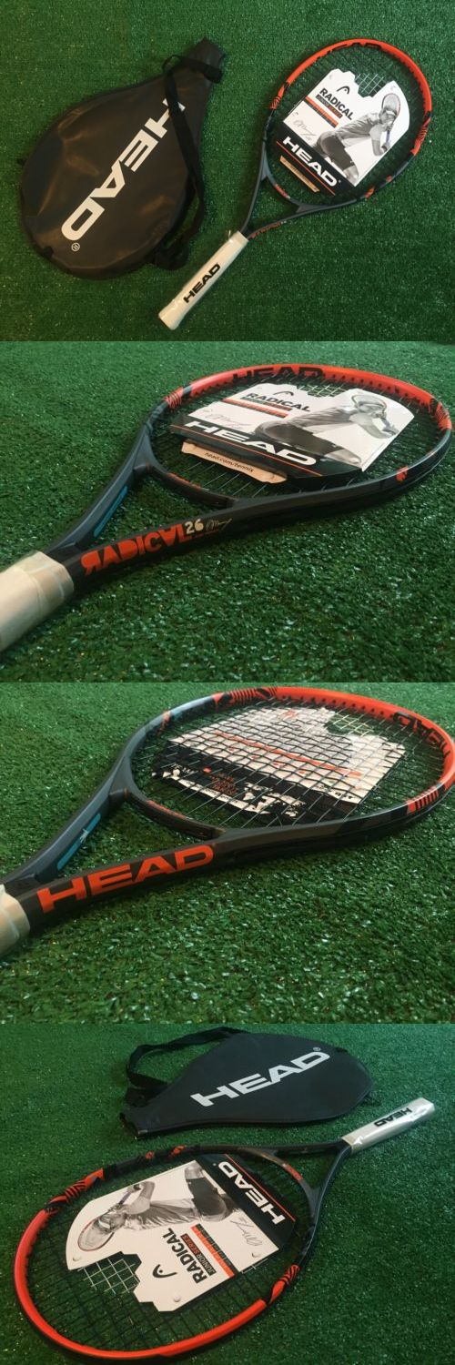 Racquets 20871: Head Radical Junior Series 26 Tennis Racquet New With Cover BUY IT NOW ONLY: $44.55