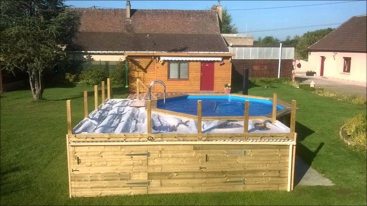 1000 ideas about piscine hors sol on pinterest petite - Terrasse bois piscine hors sol ...
