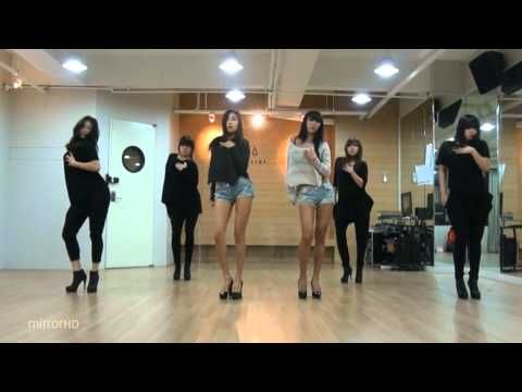 SISTAR19 - Gone Not Around Any Longer mirrored Dance Practice~ their choreo is always classy sexy!