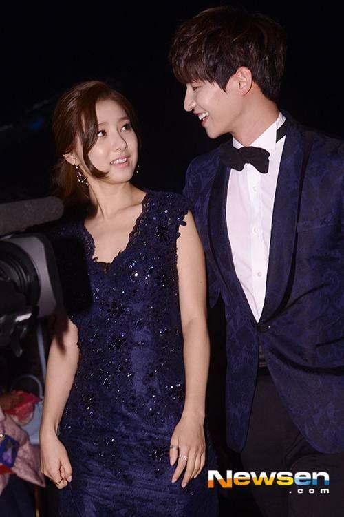 Kim So Eun and Song Jae Lim