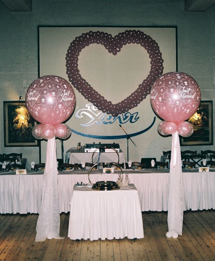 Wedding decorationwith balloons! #wedding #decoration #balloon #marriage #ideas #heart #decorideas #weddingideas
