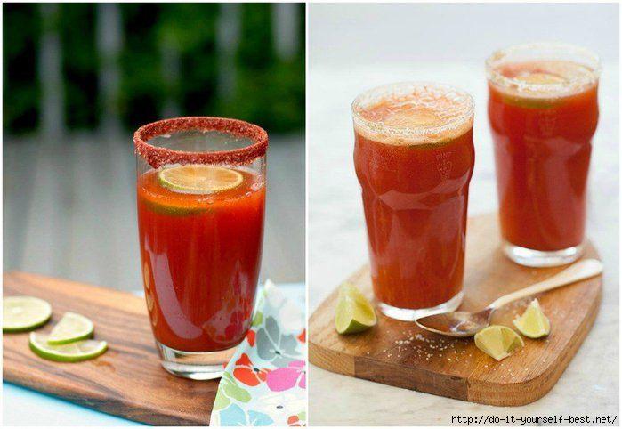 мичелада - пивной коктейль с томатным соком