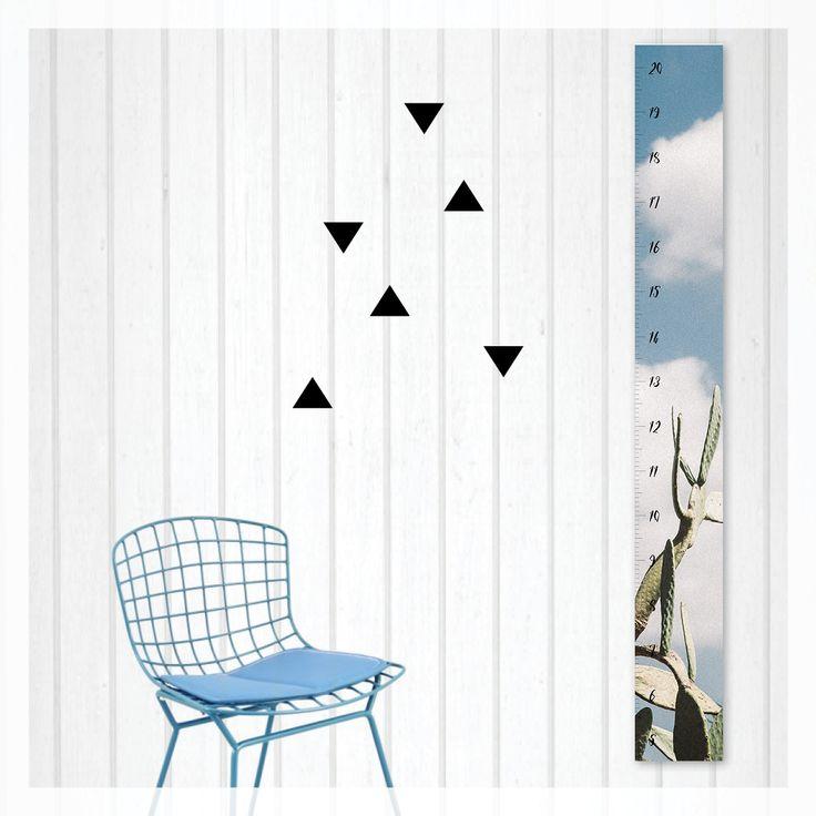 desert cacti height growth chart,   scandi, modern, photography, scandinavian, beach, boho, canvas, wall decor, home decor, interior styling, home styling, kids bedroom, kids room, boho home, palms springs