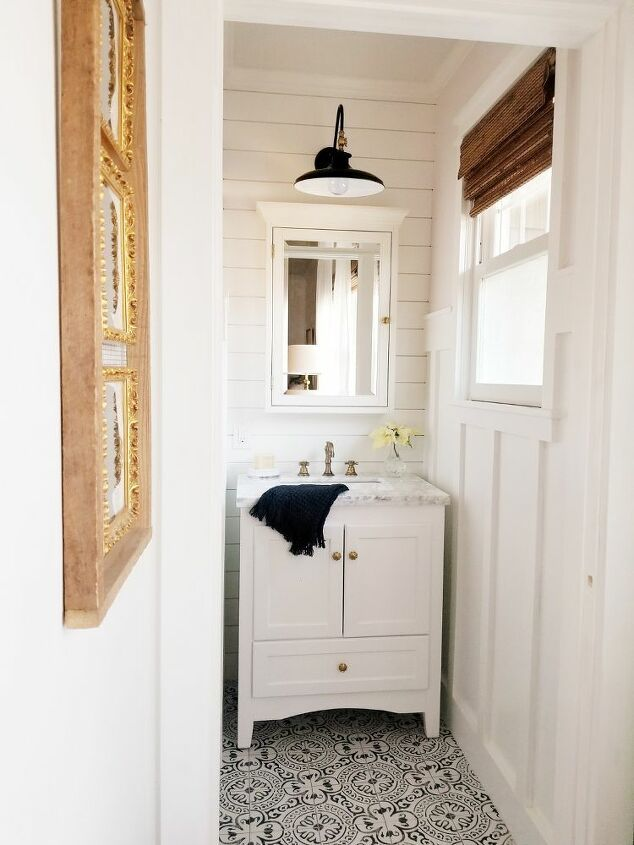 Bad Drywall In A Bathroom From The Previous Owner Covered With Cedar Fence Boards Stained With Tea Vinegar Steel Wool And Cano Home Home Projects Home Decor