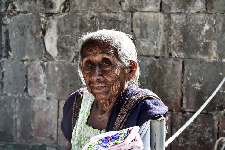 Old maya woman on 500px