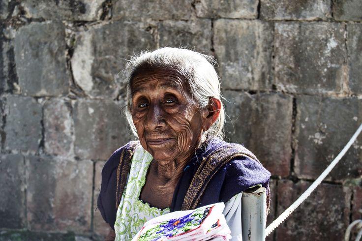 Old maya woman by Agnese Caliò on 500px