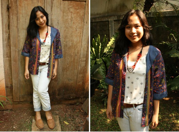 batik is unique and make me feel confident:)