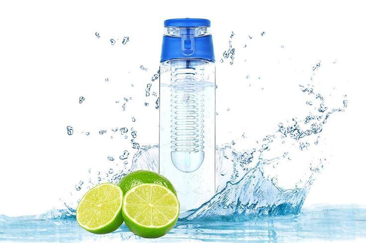 Bouteille d'eau 800ml Infuseur à fruits Sans BPA