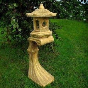 Színezet vázák oszlopok lámpások kerti szobrok