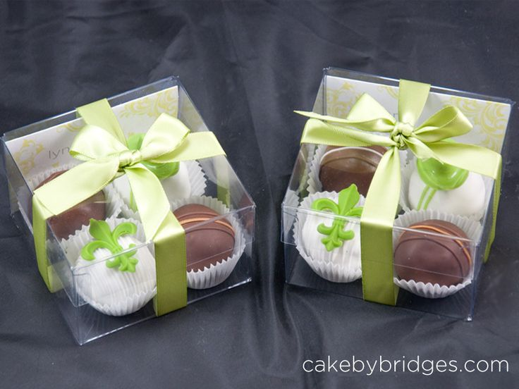 Package them up in groups of 4 and have them given to each guest for favors