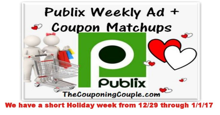 Here You Go! Publix Ad With Coupon Matchups for 12-29 to 1-1-17. We have another short ad this week, but there are some great deals to be had  Click the link below to get all of the details ► http://www.thecouponingcouple.com/publix-ad-with-coupon-matchups-for-12-29-to-1-1-17/ #Coupons #Couponing #CouponCommunity  Visit us at http://www.thecouponingcouple.com for more great posts!