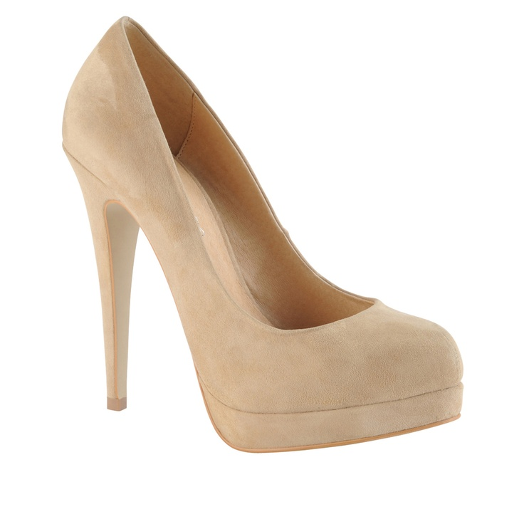 Aldo nude shoe - wear with anything.need these since mine were chewed up by  the dog!