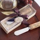 """""Vintage Reserve"" Stainless-Steel Spreader with Wine Cork Handle """