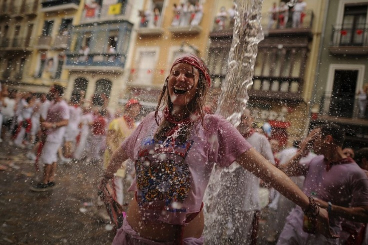 The Festival of San Fermin! On my bucket list!