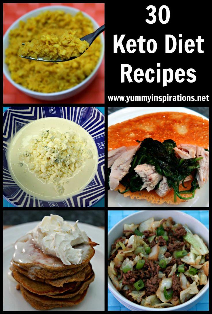 30 Keto Diet Recipes