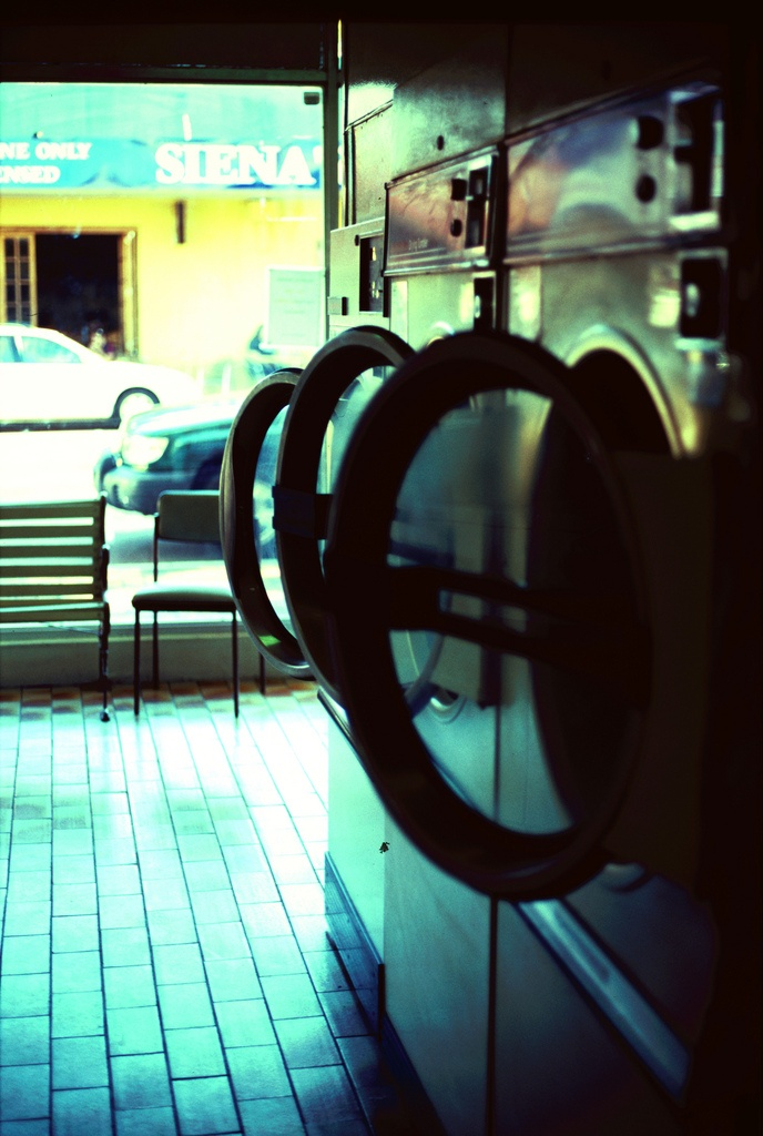 Leederville Laundry Mat. This place has lots of character.