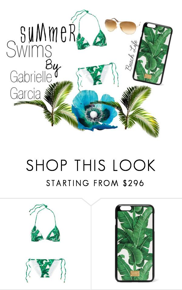 """Summer Swim : By Gabrielle Garcia"" by asdfgabbyy on Polyvore featuring Dolce&Gabbana, Tom Ford, Summer, Swimsuits, summer2016 and asdfgabbyfashion"