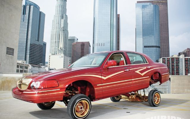 1999 Amp 2004 Lincoln Towncars Lowrider Magazine Photo 09