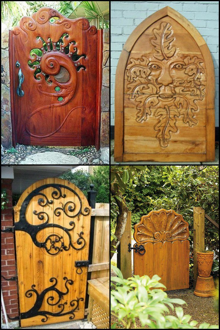 Garden gates have to be functional, but they can also be beautiful and reflect the personality of the owner.  http://theownerbuildernetwork.co/g9a2  The good news is that there are now many attractive, commercially produced gates in a significant range of styles and sizes.  But, you can't beat individual creativity and the love that's invested in a personalized show-piece :P