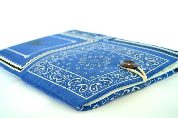 Nautical Mac Book Air 13 inch Mac Book Sleeve Lap di bertiescloset, $29.99