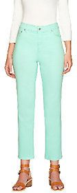 Liz Claiborne New York As Is Liz Cliaborne_New York Petite Jackie Colored Ankle Jeans