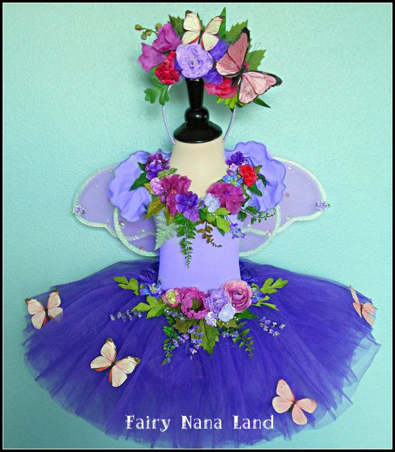 Butterfly  FAIRY COSTUME  child's size 8 to 10  by FairyNanaLand, $85.00