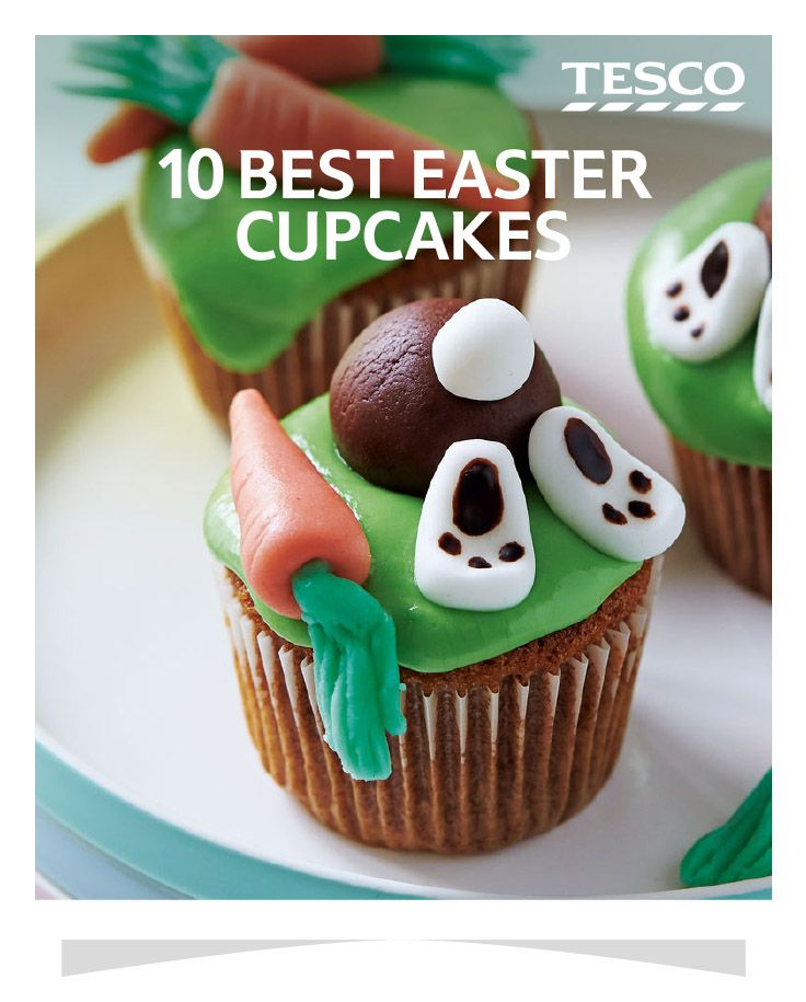 101 best easter tesco images on pinterest real foods easter 10 best easter cupcakes negle Gallery