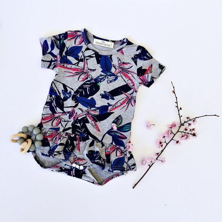 Frill skirt onesie R180