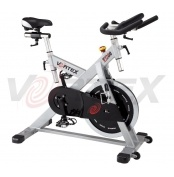 Vortex Commercial Spin Bike Fly Wheel 25kg  Vortex V-1200 Commercial Grade Spin Bike with 25kg fly wheel. Ideal for use in a commercial gym environment and also for home use.  Lifetime Structural Warranty and 12 month limited manufacturer warranty  against faults for all other parts.   For more info visit: http://www.gymandfitness.com.au/vortex-commercial-spin-bike-fly-wheel-25kg.html