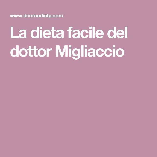 La dieta facile del dottor Migliaccio
