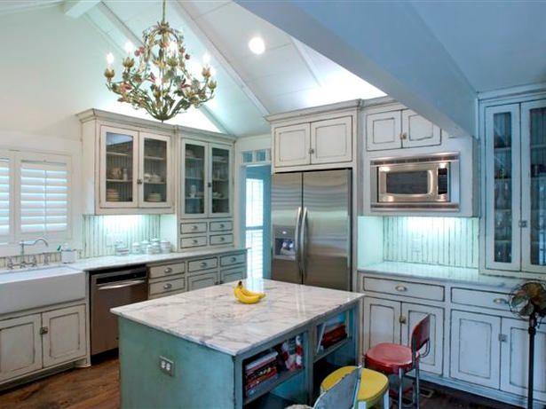 Kitchen in robin's egg blue. | Kitchen | Pinterest