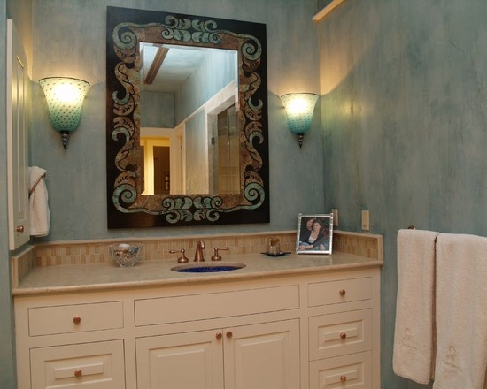 Bathroom Faux Painting Design, Pictures, Remodel, Decor And Ideas