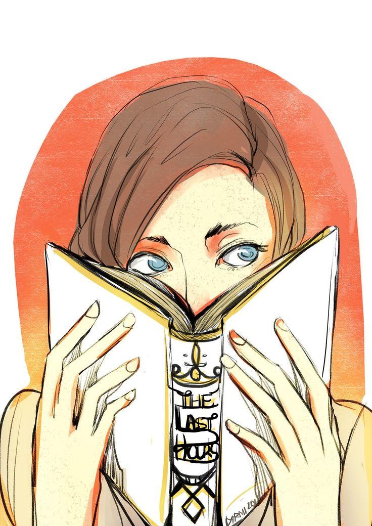Book nerd Clary