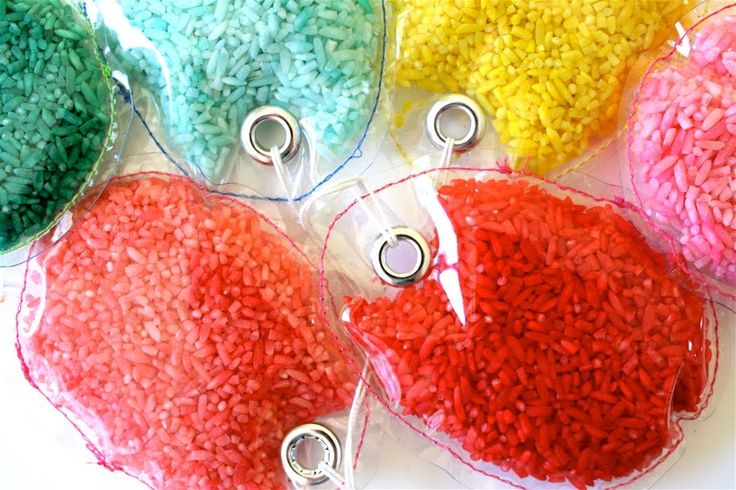 Colored Rice Eggs