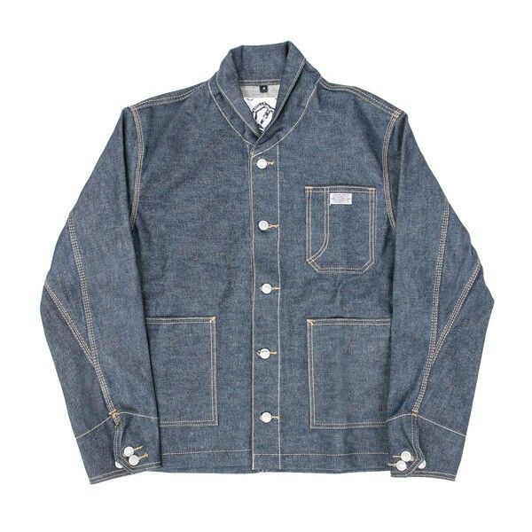 Shawl Collar Work Blouson