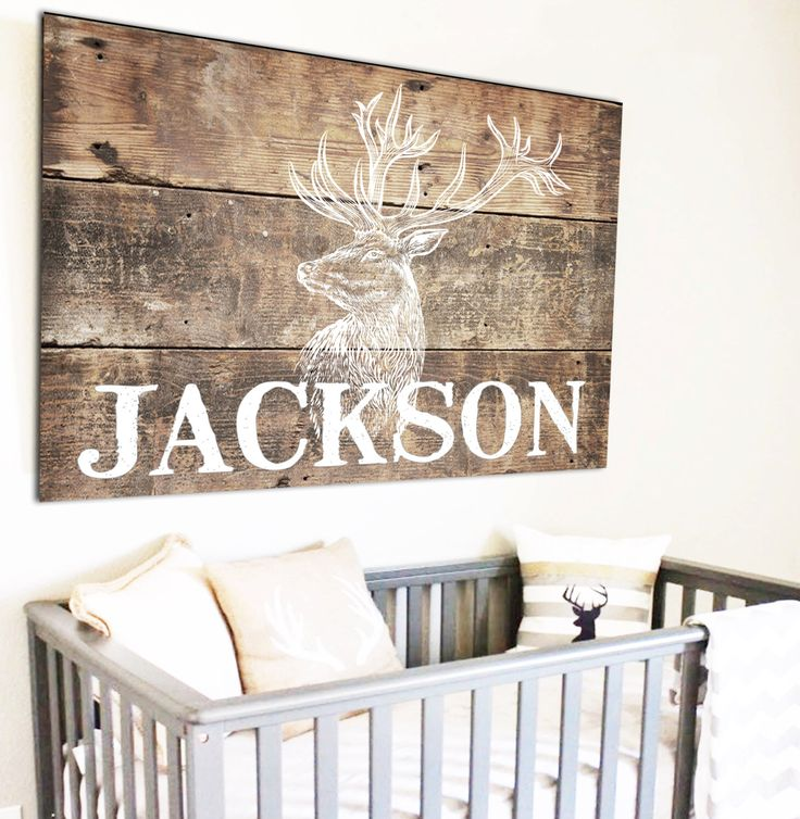 Woodland Nursery Name Sign Personalized Sign Fixer Upper Decor Baby Name Sign Above Crib Art Boho Tribal Nursey Nursery Decor Canvas Art by WallsOfWisdomCo on Etsy https://www.etsy.com/listing/526098665/woodland-nursery-name-sign-personalized