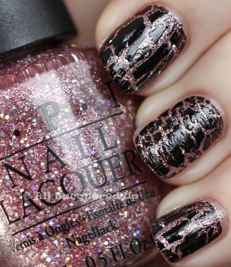 OPI Katy Perry Collection - Teenage Dream with Black Shatter