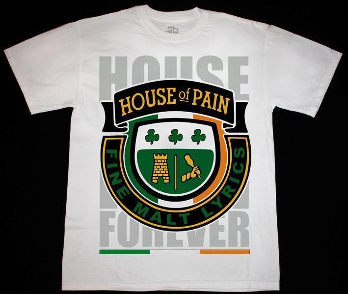 >> Click to Buy << HOUSE OF PAIN FINE MALT LYRICS DJ LETHAL CYPRESS HILL NEW WHITE T-SHIRT Print T Shirt Fashion Short Sleeve Trend #Affiliate
