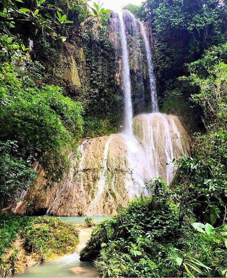 Waterfall in Jeremie Haiti
