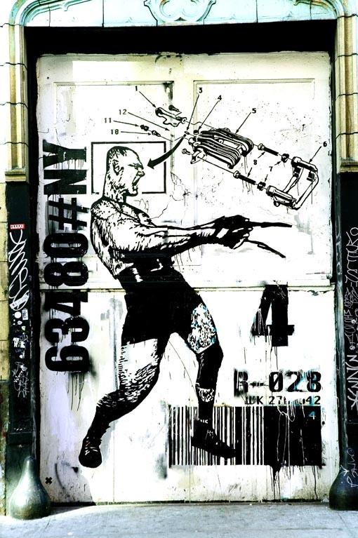 Dario Piacentini Photographer - East side graffiti 1