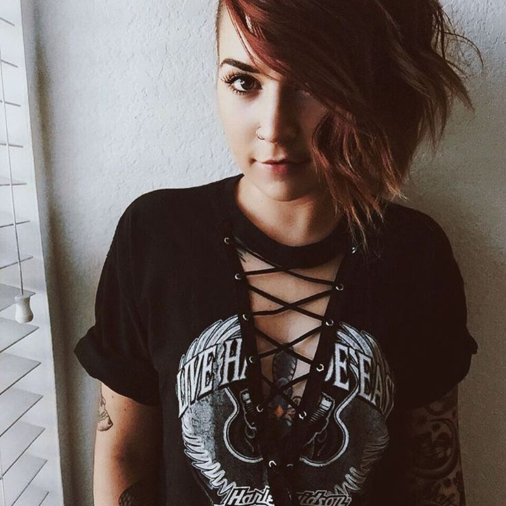 DIY Lace Up T-Shirt — Girrlscout