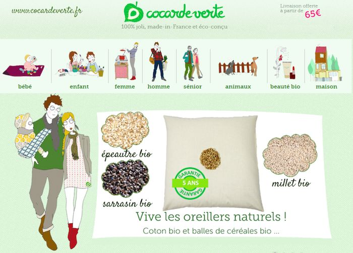 Concours La Cocarde Verte : gagnez des oreillers bio pour mieux dormir