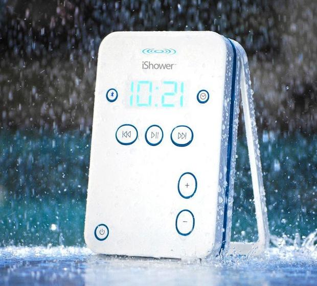 iShower Water Resistant Portable Speaker | DigsDigs