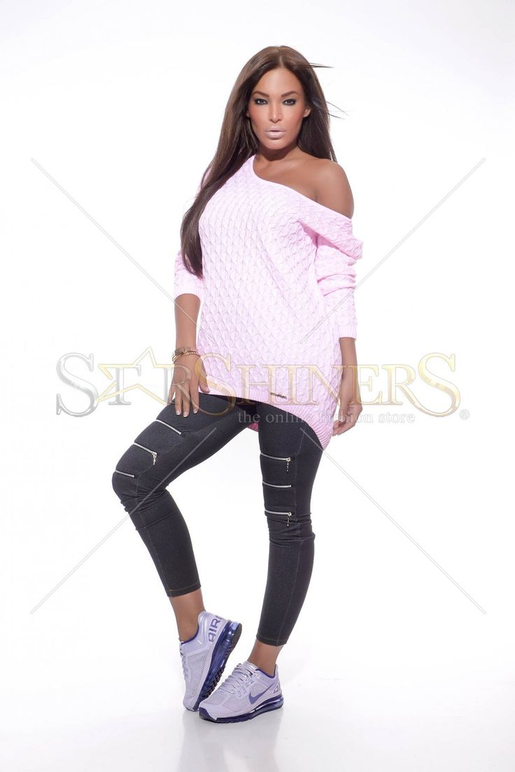 MissQ Girlish Side Pink Sweater