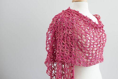 Ravelry: Starfish Stole pattern by Jill Wright  - free Ravelry download