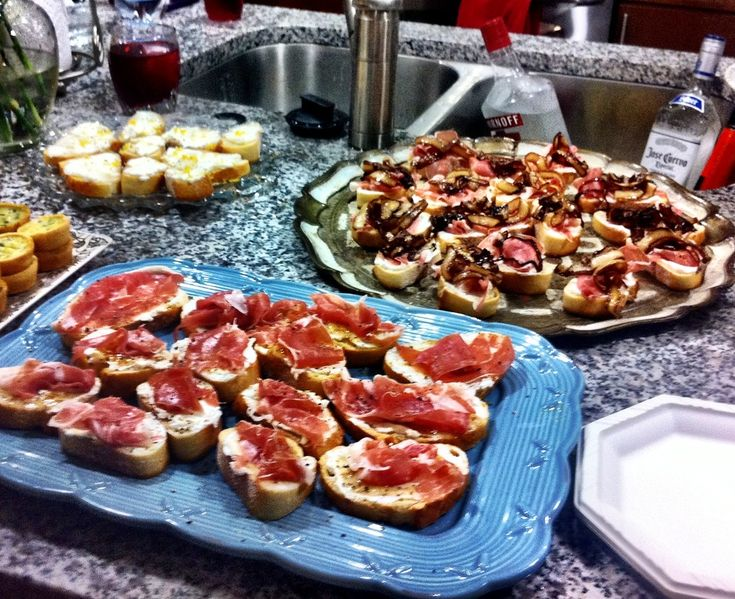 Housewarming party, Fig jam and Bruschetta on Pinterest
