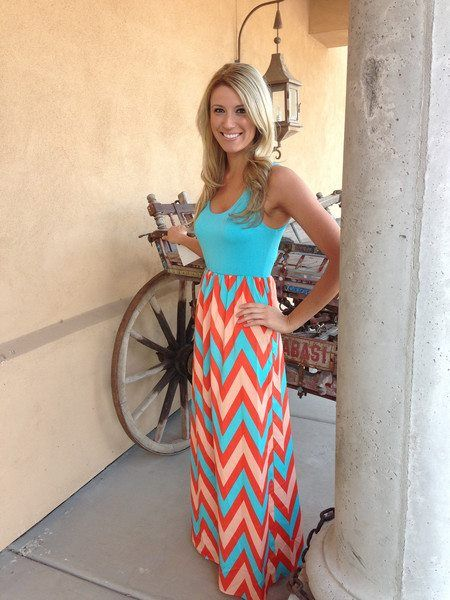 blue and orange maxi dress   gommap blog
