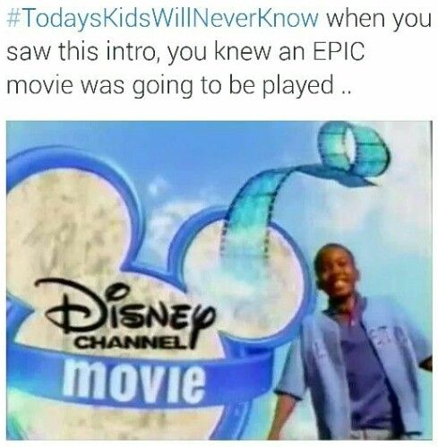 ~Today's Kids Will Never Know~ ~Disney Channel~